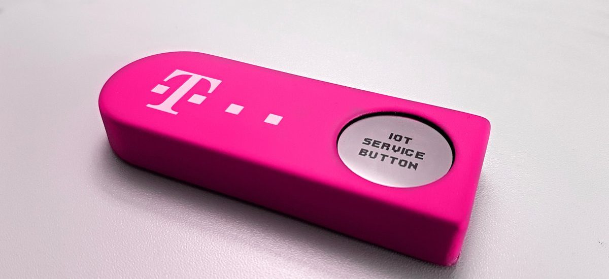 Alarm per Knopfdruck – Telekom IoT Service Button