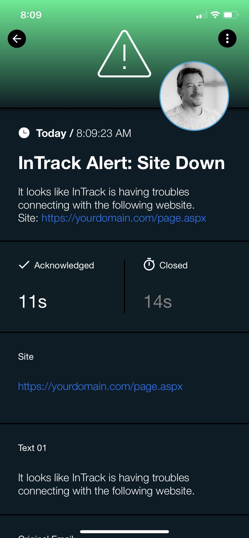InTrack_S4alert