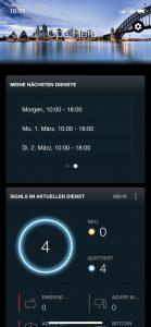 Dienstplanung SIGNL4 App
