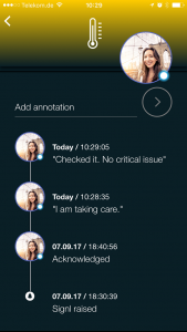 Shared mobile Annotations