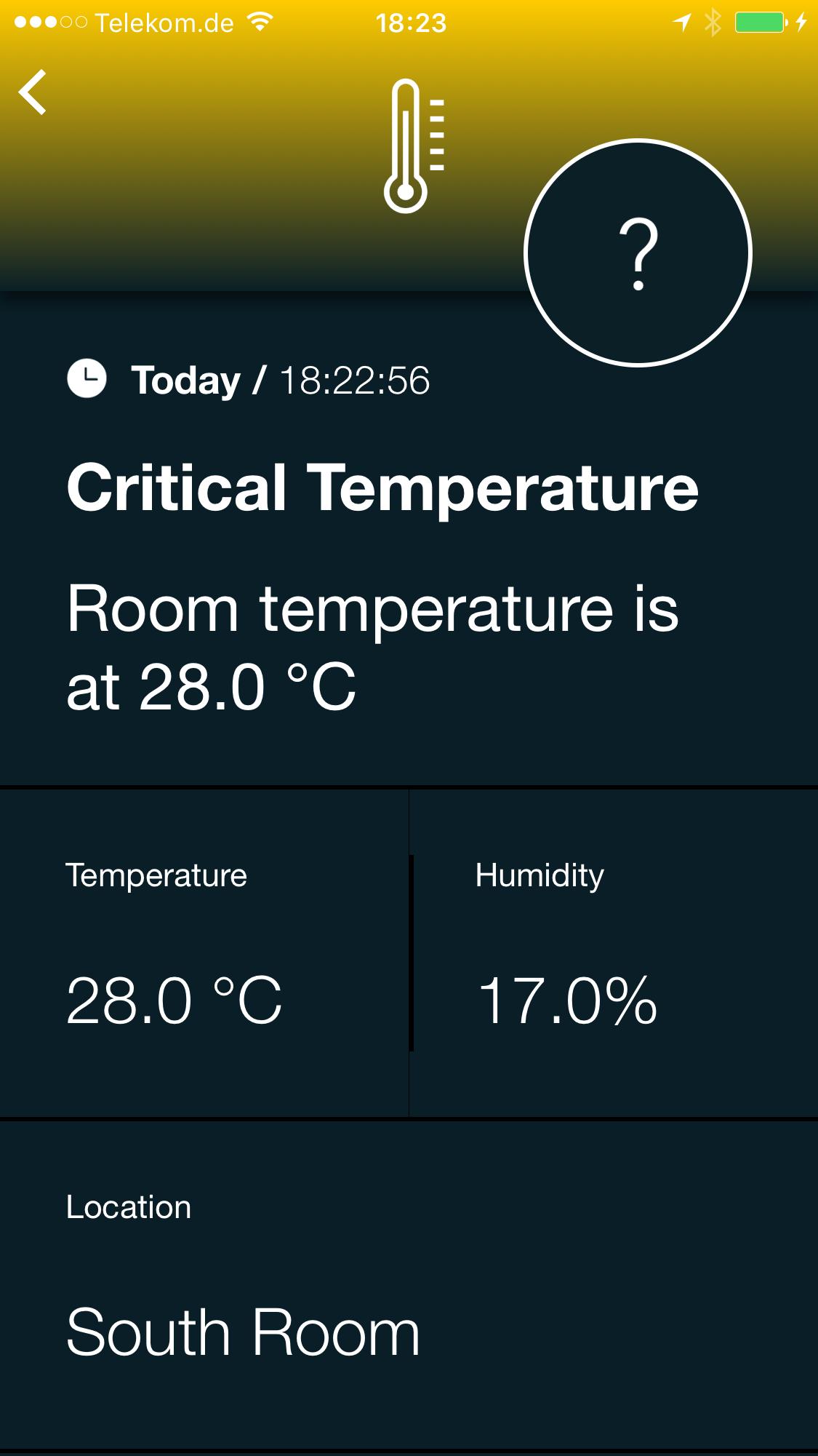 Temperatur Alert