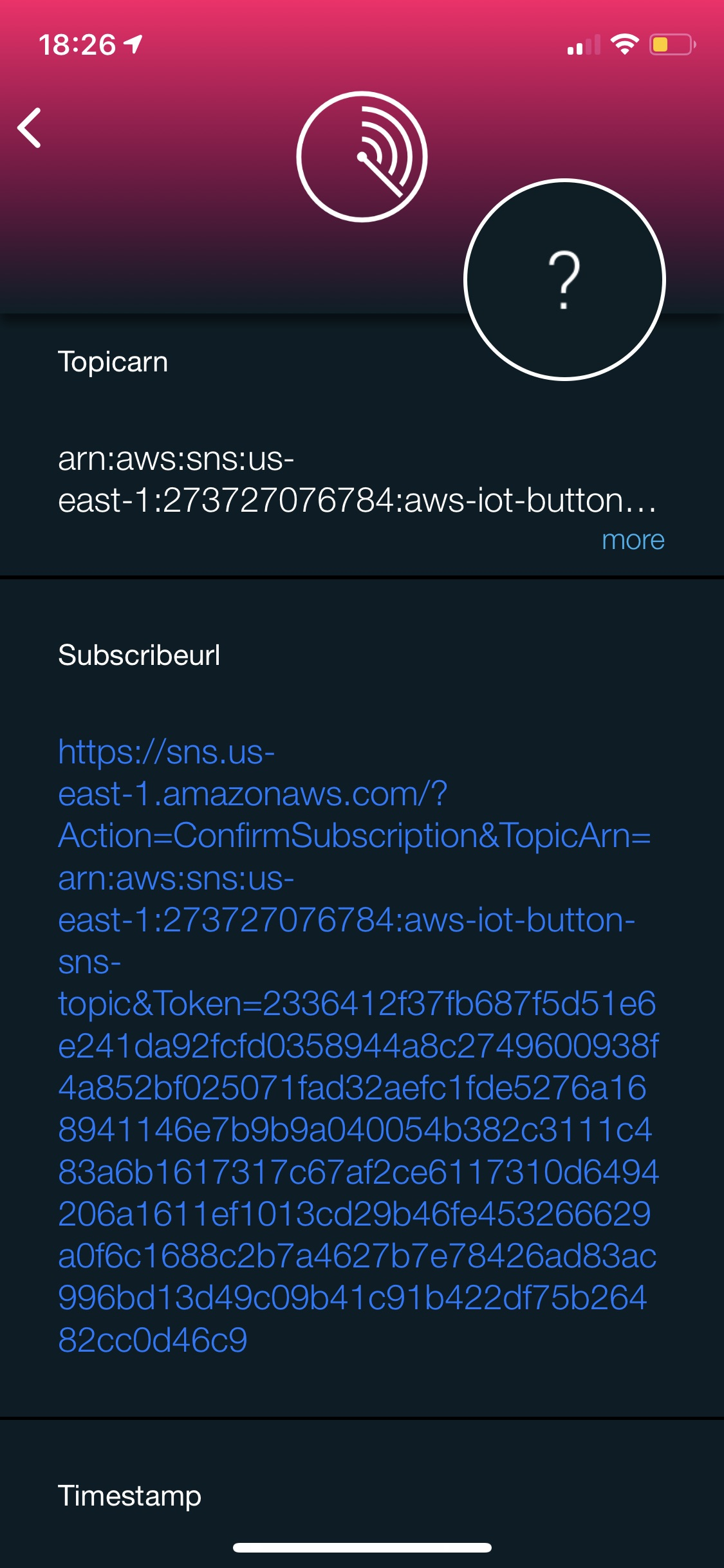 SIGNL4 | Setting up the AWS IoT Button - and SIGNL4