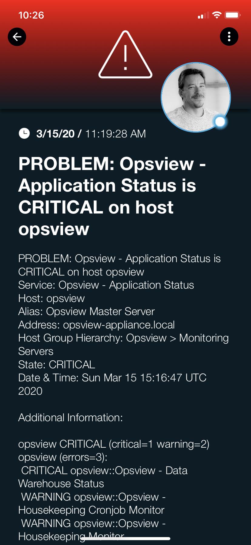 opsview_s4alert