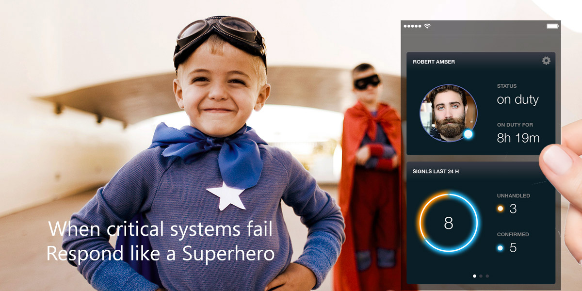 Be a superhero with SIGNL4